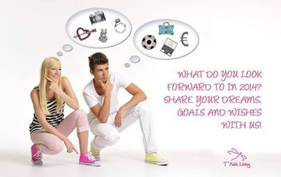 Share your dreams, goals and wishes for 2014.We will draw one lucky person, who receives a T`Aide Living locket to keep those encouragements with you!