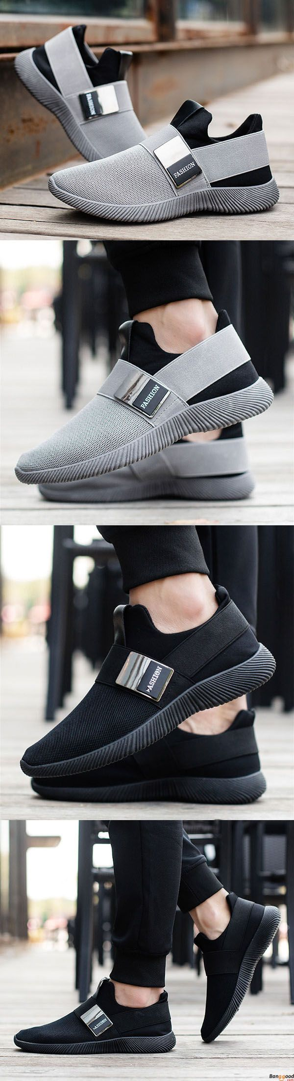 US$30.87+ Free Shipping   Men comfortable slip on sneakers. 2 colors available. size: us6.5~us10. fashion and chic.  Men's shoes,men's athletic shoes,sneakers, men's sneakers,workout,fitness,nike,adidas men's style, chic style, fashion style. Shop at bang
