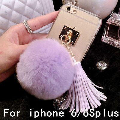 Real Bunny Fur Case for iPhone