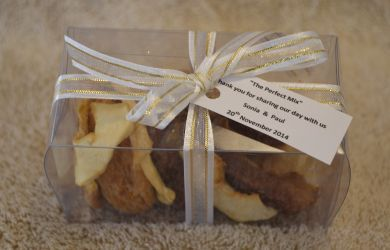 'The Perfect Mix' - Dried Fruit  Visit our website - www.theweddingshop.co.za