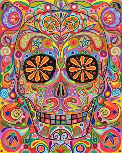 thaneeya mcardle - skull art