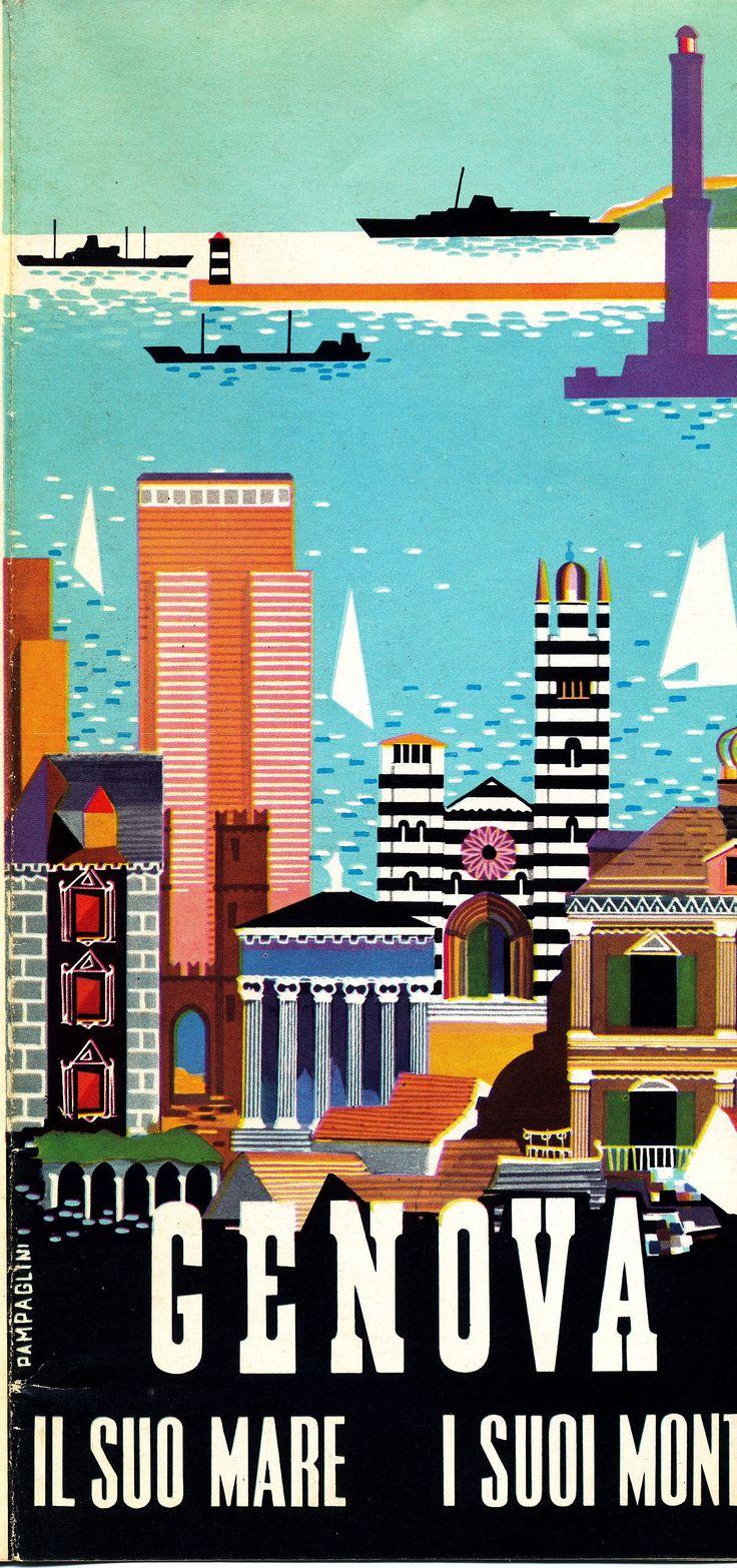 Genova ~ Genoa ~ la Riviera Ligure _______________________________ Italie ~ Italia ~ Italy