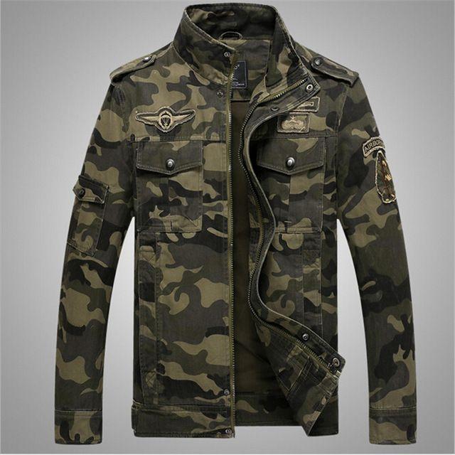 Chaquetas de camuflaje militar mens 2017 american clothing chaqueta hombre chaqueta de los hombres de camuflaje del ejército militar americano camuflaje