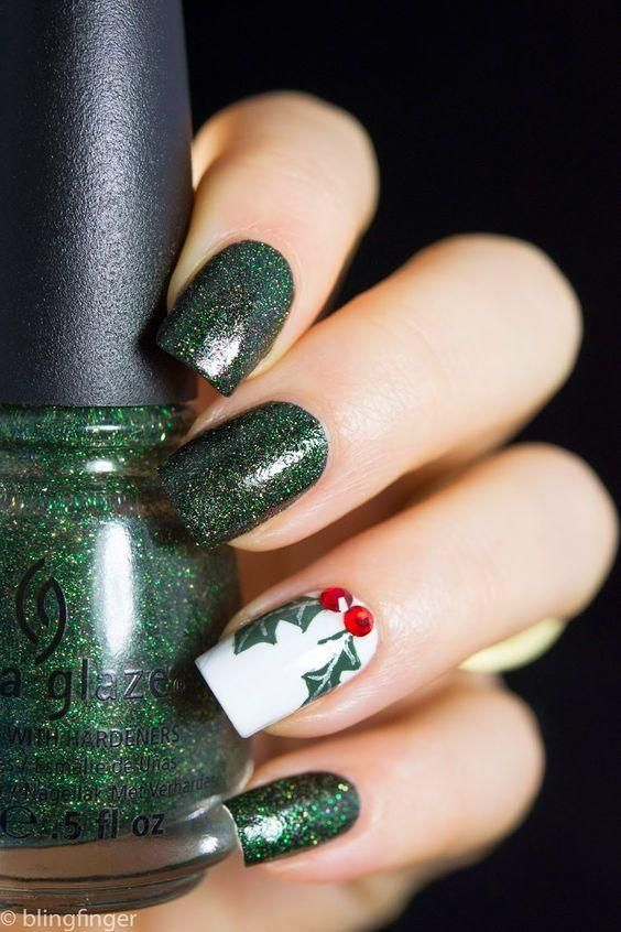 55 Popular Ideas Of Christmas Nails Designs To Try In 2019 Beauty