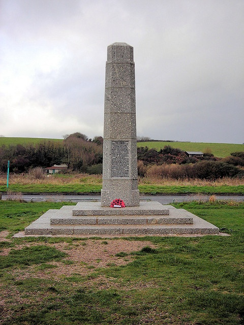 Slapton Sands Memorial, South Hams, Devon. by Jim Linwood www.bythedart.tv #Dartmouth