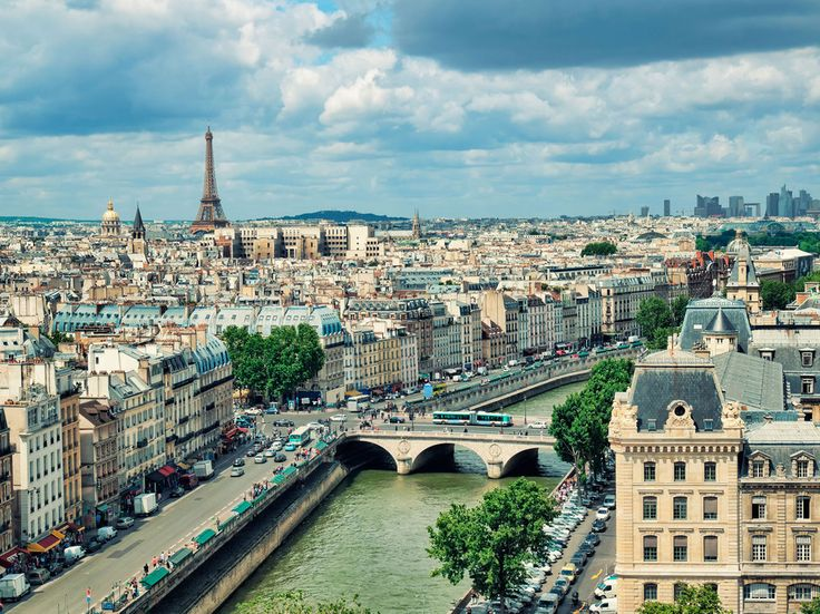 Notre Dame is breathtaking on its own, but it also affords one of the best views in the city. Come prepared: You'll have to climb about 387 steps to get to the top of the tower, but from there, you can see all along the Seine, to the Eiffel Tower, and over to Sacré-Cœur in Montmartre. Address: Parvis Notre-Dame - Place Jean-Paul II, 75004 ParisMétro stop: Saint-Michel/Cité (line: 4)