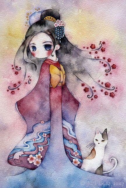 La Imaginación Dibujada: ilustracion infantil. Yuri Ueda