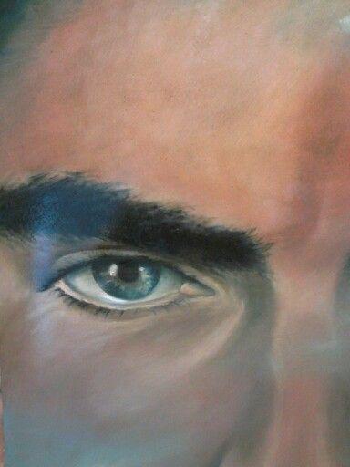 CREPUSCOLO, olio su tavola, 2014 (work in progress) - Daniela Montanari