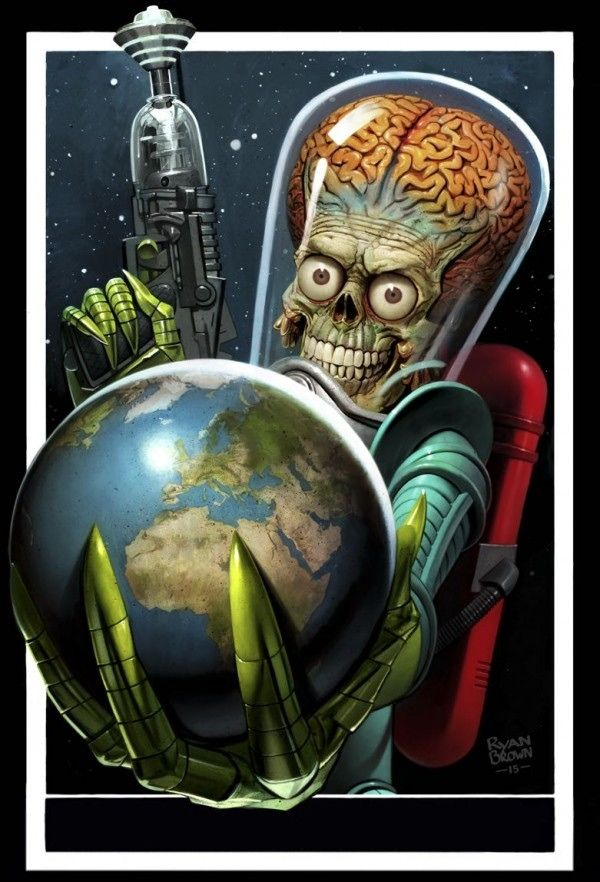 Mars Attacks Occupation Trading Cards by The Topps Company — Kickstarter