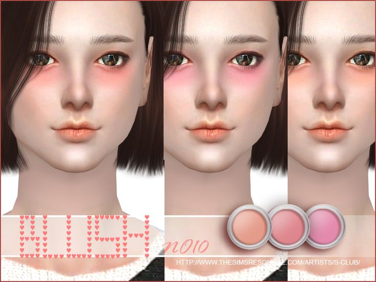 Blush for all age, 3 colors inside, enjoy, thank you.  Found in TSR Category 'Sims 4 Female Blush'