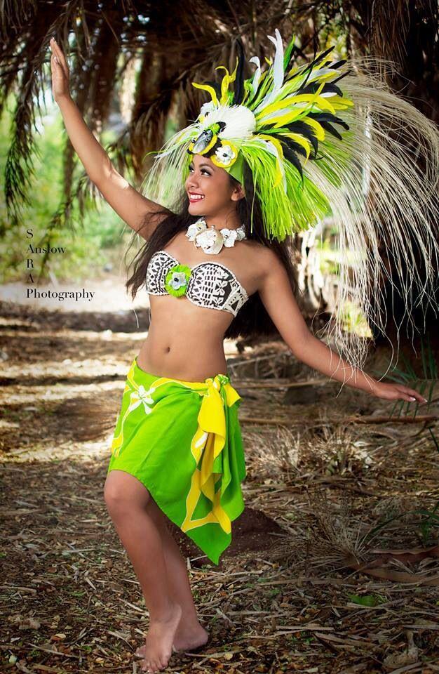 Gorgeous Tahitian dancer