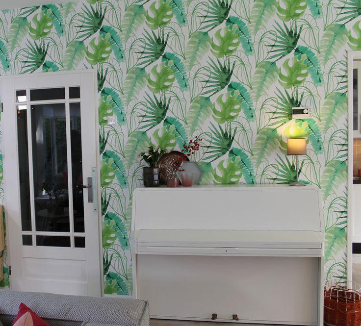 Eigen huis en tuin praxis dit mooie behang uit de elle for Eigen huis en tuin huis te koop