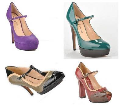 Merceditas o May Jane coloridas ideales para cualquier ocasión #moda #zapatos de @Rebeca_Sanver