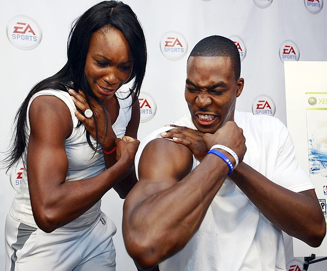 compatish: Fit Black, Extreme Sports, Ea Sports, Sports Events, Venus Williams, Fit Inspiration, Rare Photo, Female Sports, Dwight Howard