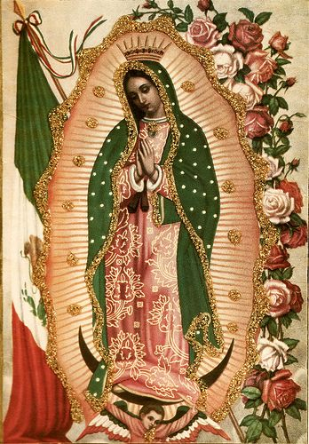 Virgen De Guadalupe http://novocainelipstick.tumblr.com/post/14134880003
