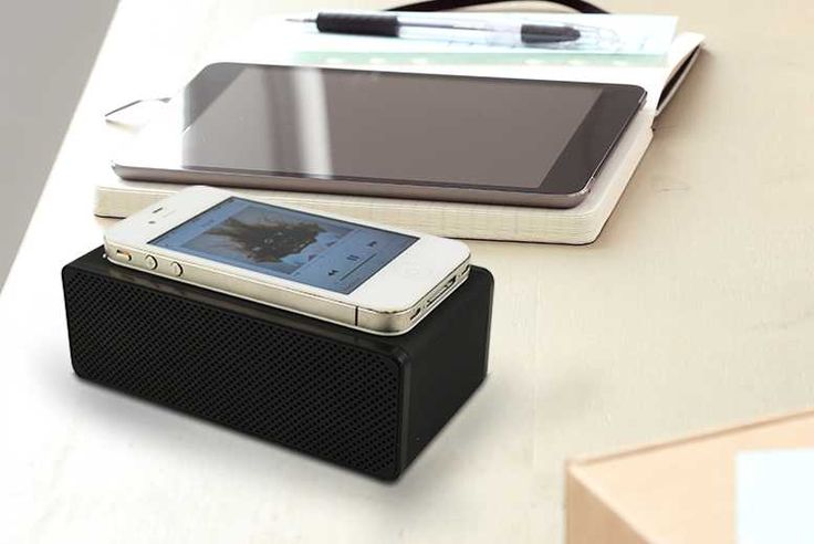 'Drop and Play' Wireless Smartphone Speaker