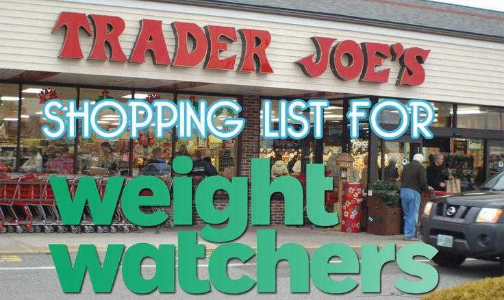 Trader Joe's shopping list for Weight Watchers