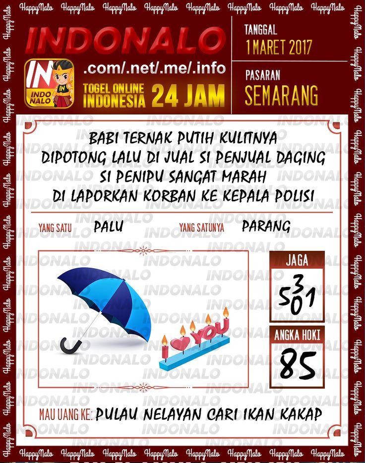 Rumus Taysen 6D Togel Wap Online Indonalo Semarang 1 Maret 2017
