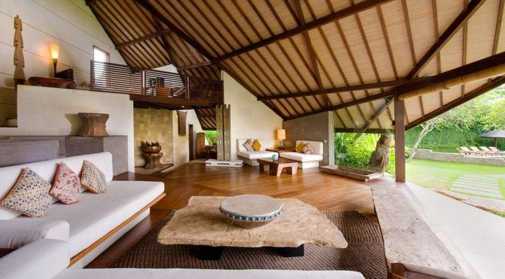 Villa Bali-Bali One - Living space and mezzanine floor