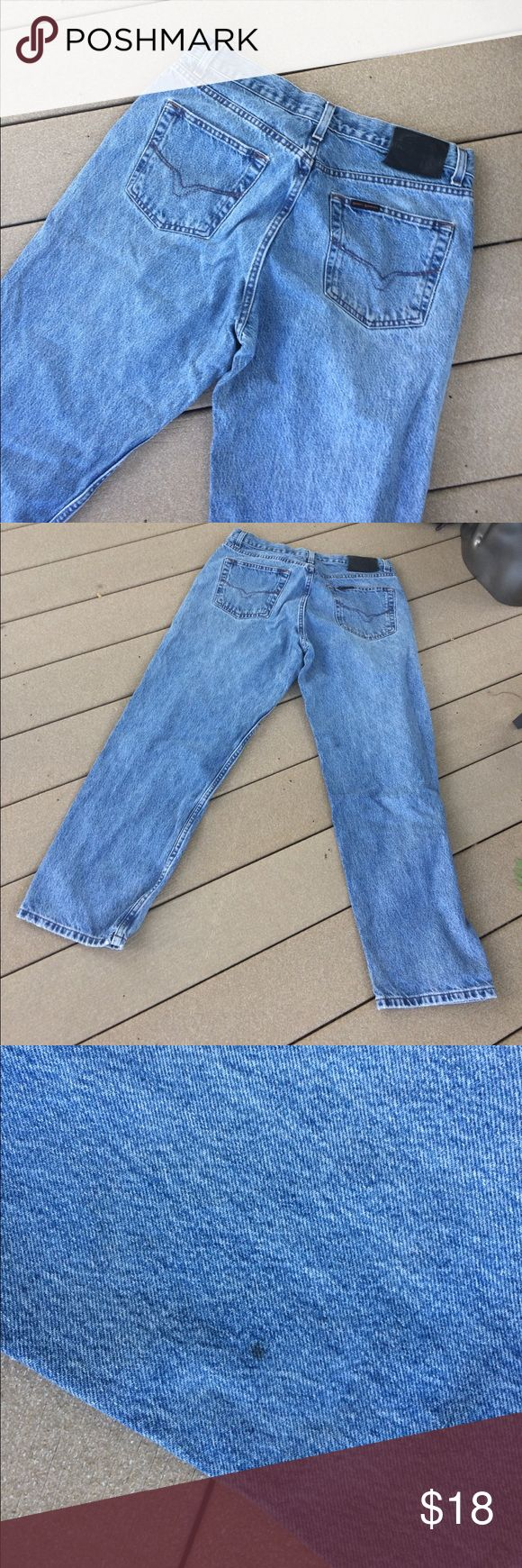 Harley Davidson jeans 34/30 Loved some small marks see pics Harley-Davidson Jeans