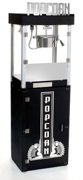 Metropolitan Popcorn Machine Popper Cart