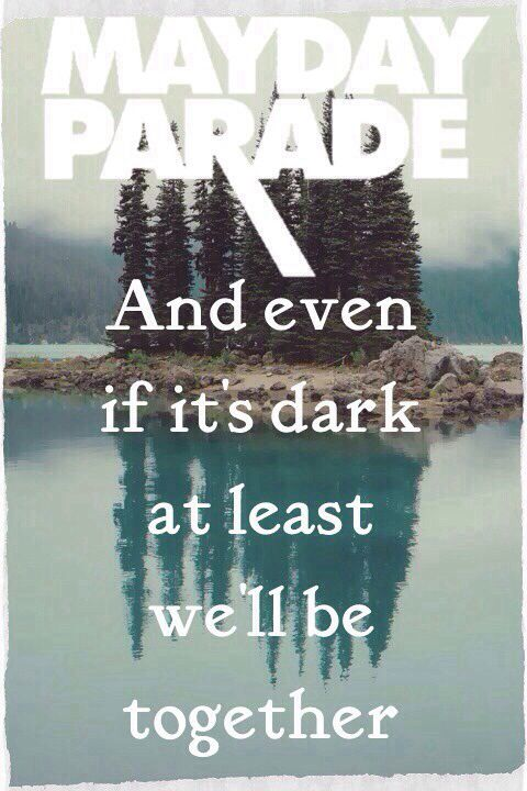 Without The Bitter, The Sweet Isn't As Sweet - Mayday parade