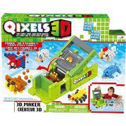 Qixels 3D Model Maker