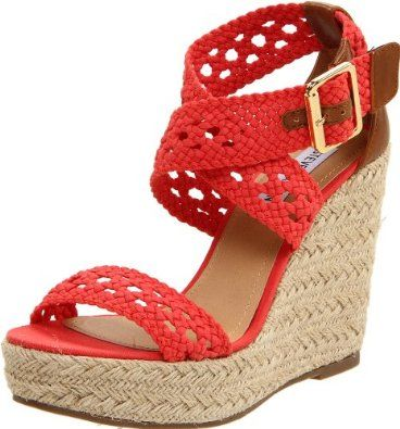You're want to buy Steve Madden Women's Magestee Wedge Sandal ?Yes ..! you comes at the right place. You can get special discount for Steve Madden Women's Magestee Wedge Sandal. You can choose to buy a product and Steve Madden Women's Magestee Wedge Sandal at the Best Price Online with Secure Transaction Here...Customer Rating: Price: $69.00 - $69.95 FREE Super Saver Shipping
