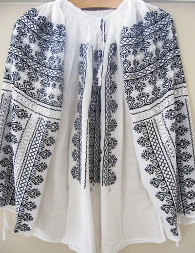 #romanian embroidered blouse  Blouse #2dayslook #fashion #nice #Blouse  www.2dayslook.nl