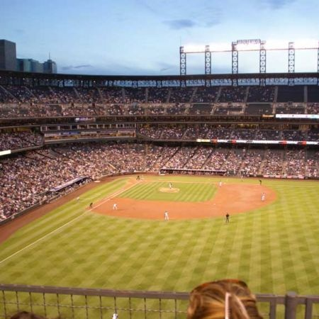 Coors Field - home to the Colorado Rockies DONE
