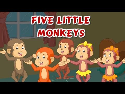 Five Little Monkeys Jumping On The Bed | Nursery Rhyme and Children's Song | Best Buddies - YouTube