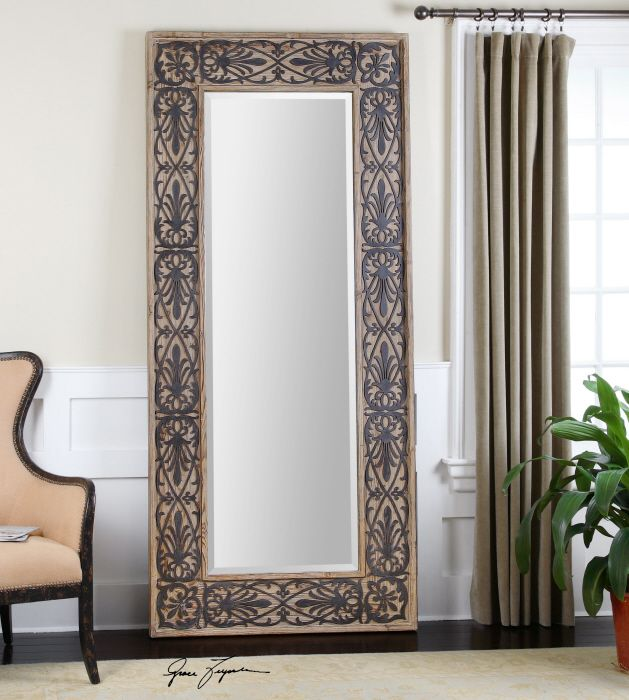 wall decor mirror home accents. Uttermost Abelardo Wood Frame Leaner Mirror  x in Floor Mirrors at Hayneedle Find this Pin and more on Accent Wall for Home Decor 13 best images Pinterest