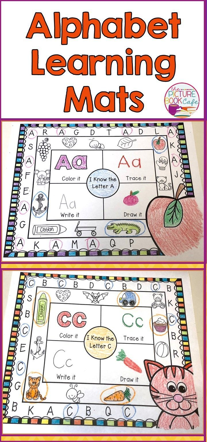Beginning sound letter mats! Students will have fun circling the correct letter, coloring pictures that begin with that letter, and coloring, drawing and tracing the letter!