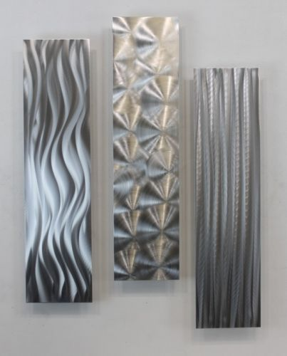 17 best ideas about silver wall art on pinterest silver - Objet deco moderne ...