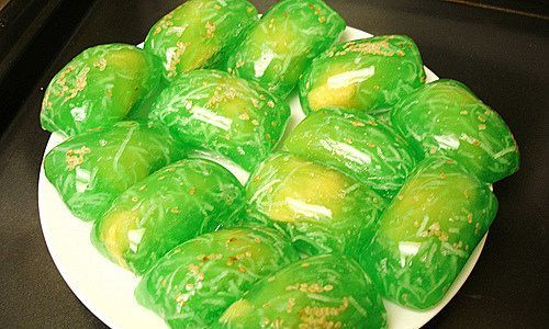 Vietnamese Recipes – Husband and Wife Cake or Conjugal Cake or Tapioca and Mung Bean Cake (Northern Cuisine – Bac Ninh) – Banh Phu The hay Xu xe (Mon An Bac Bo – Bac Ninh)