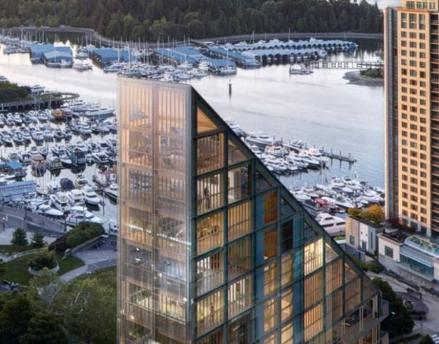 a look at the world's tallest hybrid timber building | @meccinteriors | design bites | #architecture #timberbuilding
