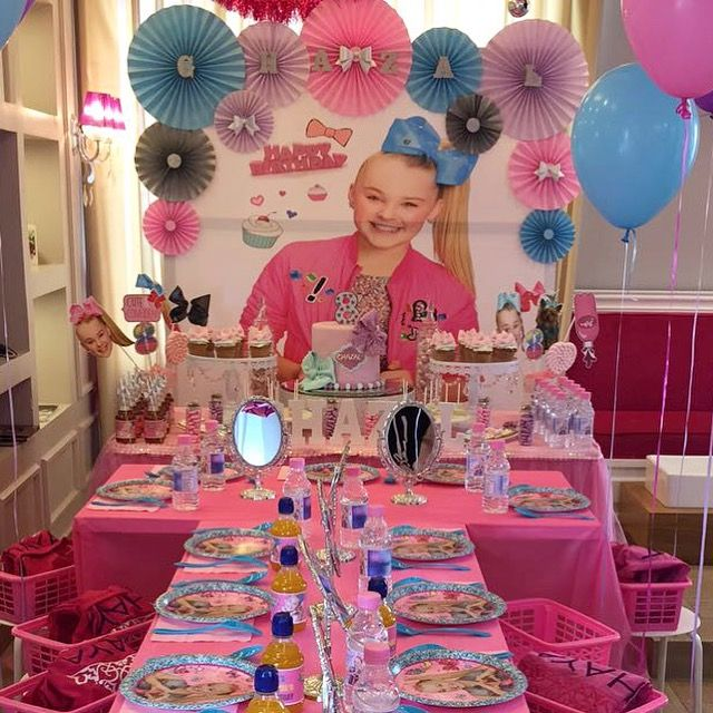 Jojo Siwa Themed Birthday Party Jojo Siwa Birthday Party