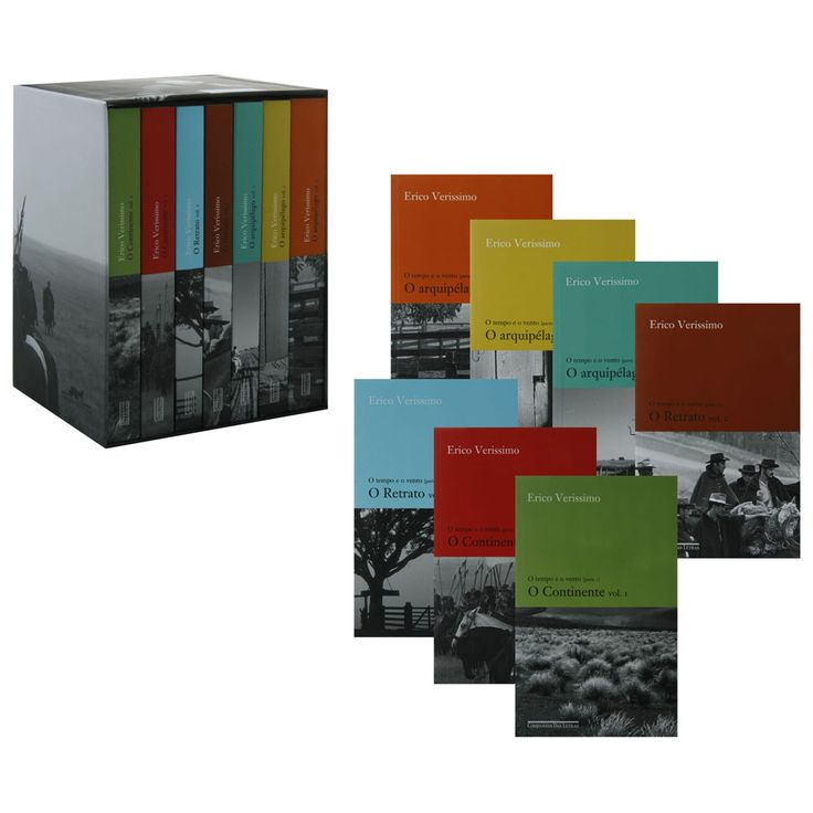 Livro - Caixa O Tempo e o Vento - Trilogia - 7 Volumes - Erico Verissimo - Crítica Literária no Extra.com.br