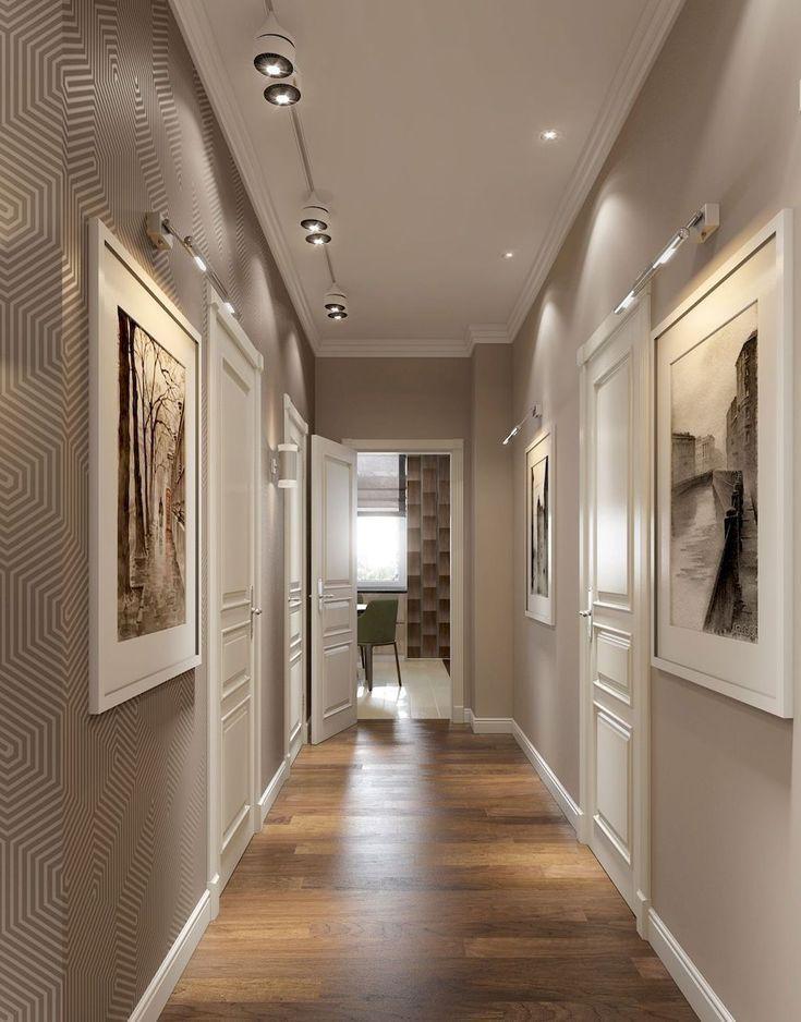 Modern Apartment Decor 144 Hallway Decorating Hallway Ideas