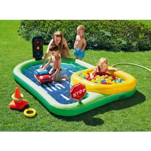 Buy chad valley road paddling pool at your for Garden pool argos