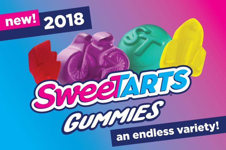 """Nestle's US brand SweeTarts has unveiled what it says is its """"biggest innovation yet"""" – Gummies which come in an endless variety of shapes. Scheduled to go on sale in December 2017 the gummies come in both sour and fruity flavors, and in a variety of shapes inspired by passionate fans, who helped choose the designs..."""