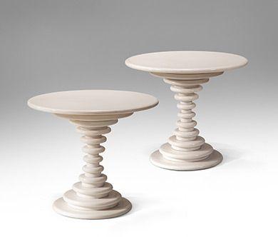Marzio Cecchi for Studio Most - white marble - Circa 1982