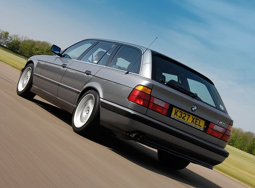 BMW M5 Touring (E34).  This BMW 5-series wagon is an eternal classic. Loves it to this day!