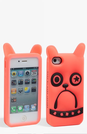 MARC BY MARC JACOBS 'Pickles the Bulldog' iPhone 4 & 4S Case available at #Nordstrom