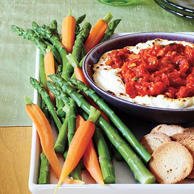 Week of 12/10/12, Baked Goat Cheese Dip Recipe: man was this good!!!
