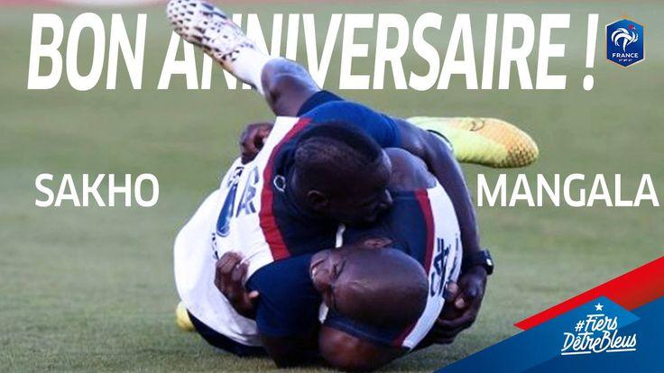Bon anniversaire Mamadou Sakho (27 ans) et Eliaquim Mangala Officiel (26 ans)!! ✌
