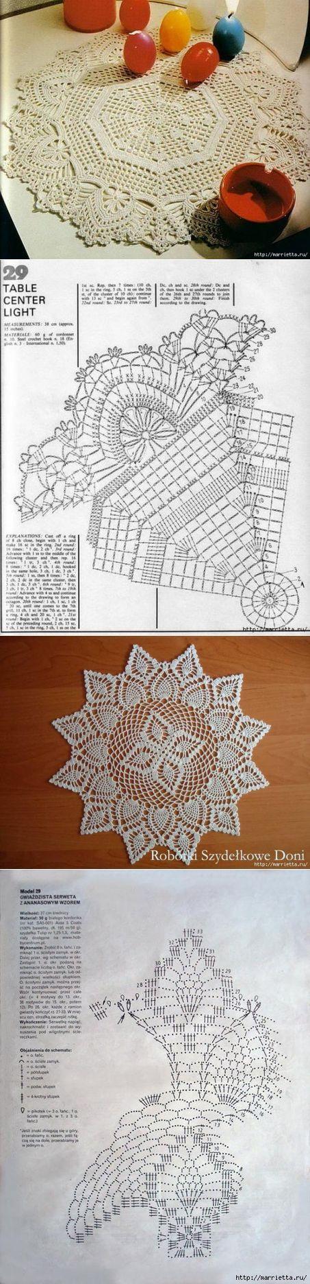 794 best Patterns images on Pinterest   Crochet patterns, Crochet ...
