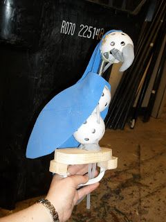 Theatre Projects: Parrot Puppet