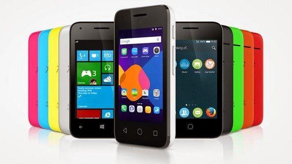 Alcatel announces OS-agnostic PIXI 3 phone (runs Android, Firefox or Windows).