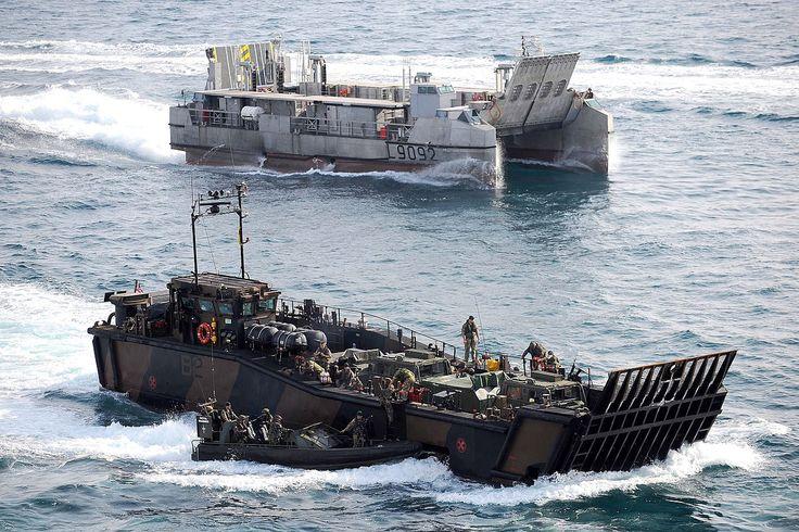 landing craft during d-day